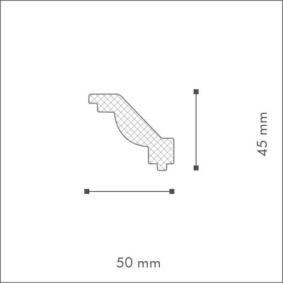 Cornisa Nomastyl T4